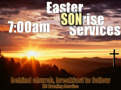 Easter Sonrise Service @ NPPBC | Maryville | Tennessee | United States